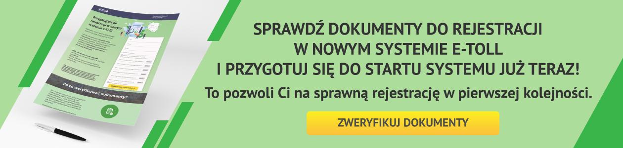 Nowy system do opłat drogowych w Polsce. Przygotuj się do rejestracji i sprawdź swoje dokumenty już teraz!