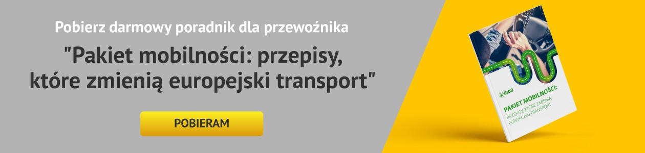 Pakiet mobilności: wskazówki dla przewoźnika