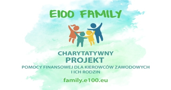 E100 Family pomaga kierowcom po wypadkach i ich rodzinom