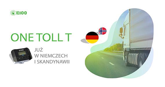 E100 ONE TOLL już od lipca w Niemczech i Skandynawii