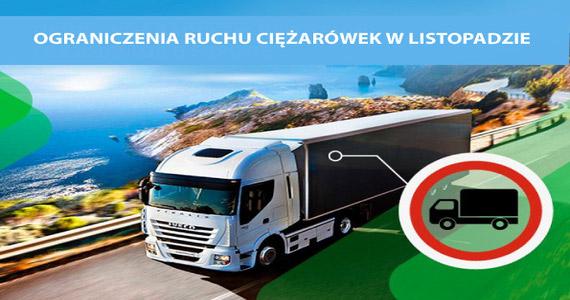Europa: ograniczenia ruchu ciężarówek w listopadzie