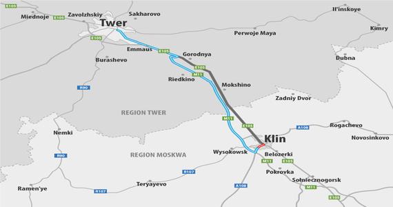 Rosja: druga część autostrady M11 Klin-Twer została otwarta