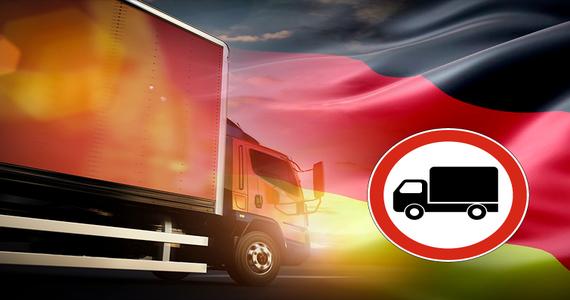 Dodatkowe zakazy ruchu pojazdów ciężarowych w Niemczech