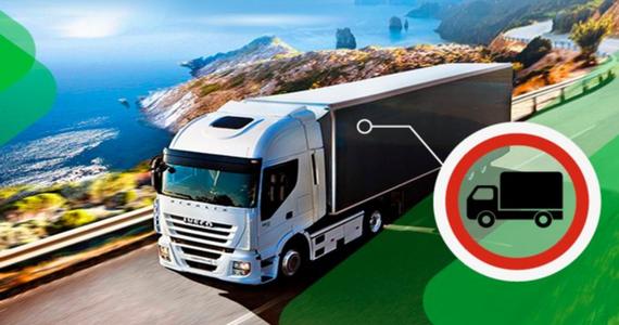Sierpień: ograniczenia ruchu ciężarówek
